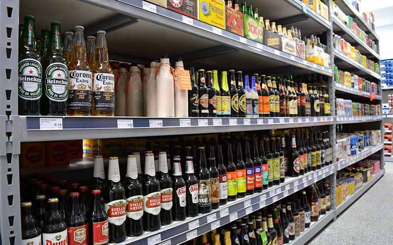 Bros. Liquor Discount Beer