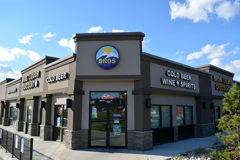 Bros Liquor Store Front