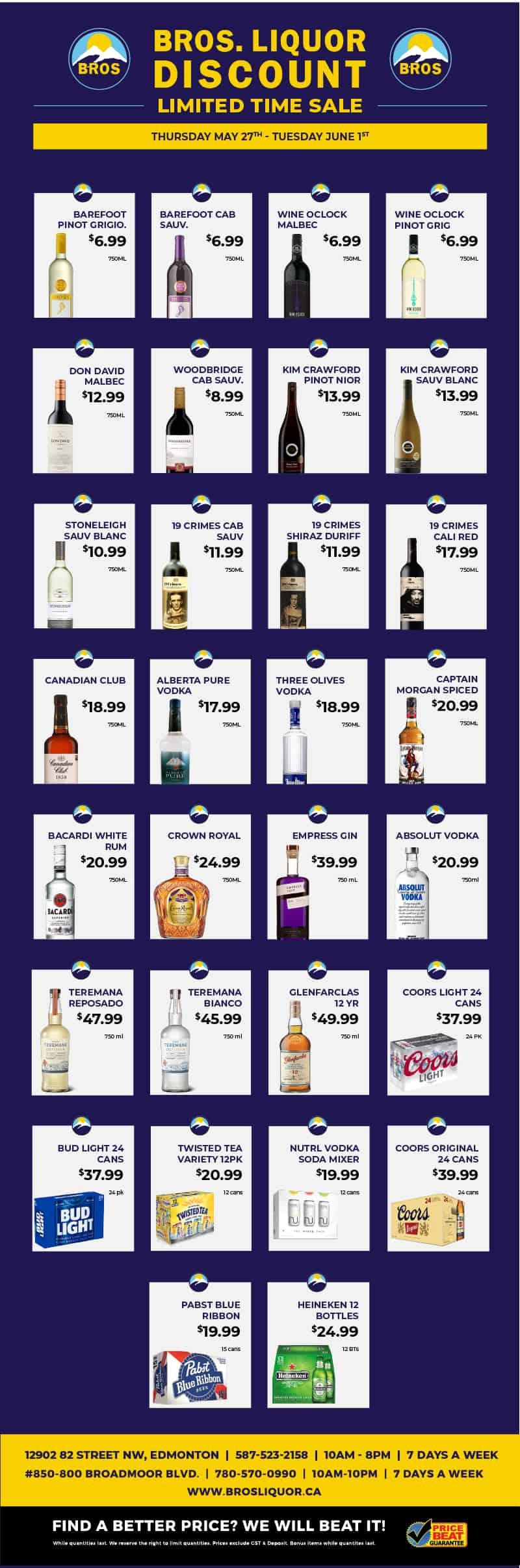 Discount Liquor Flyer May 2021, Sherwood Park, AB